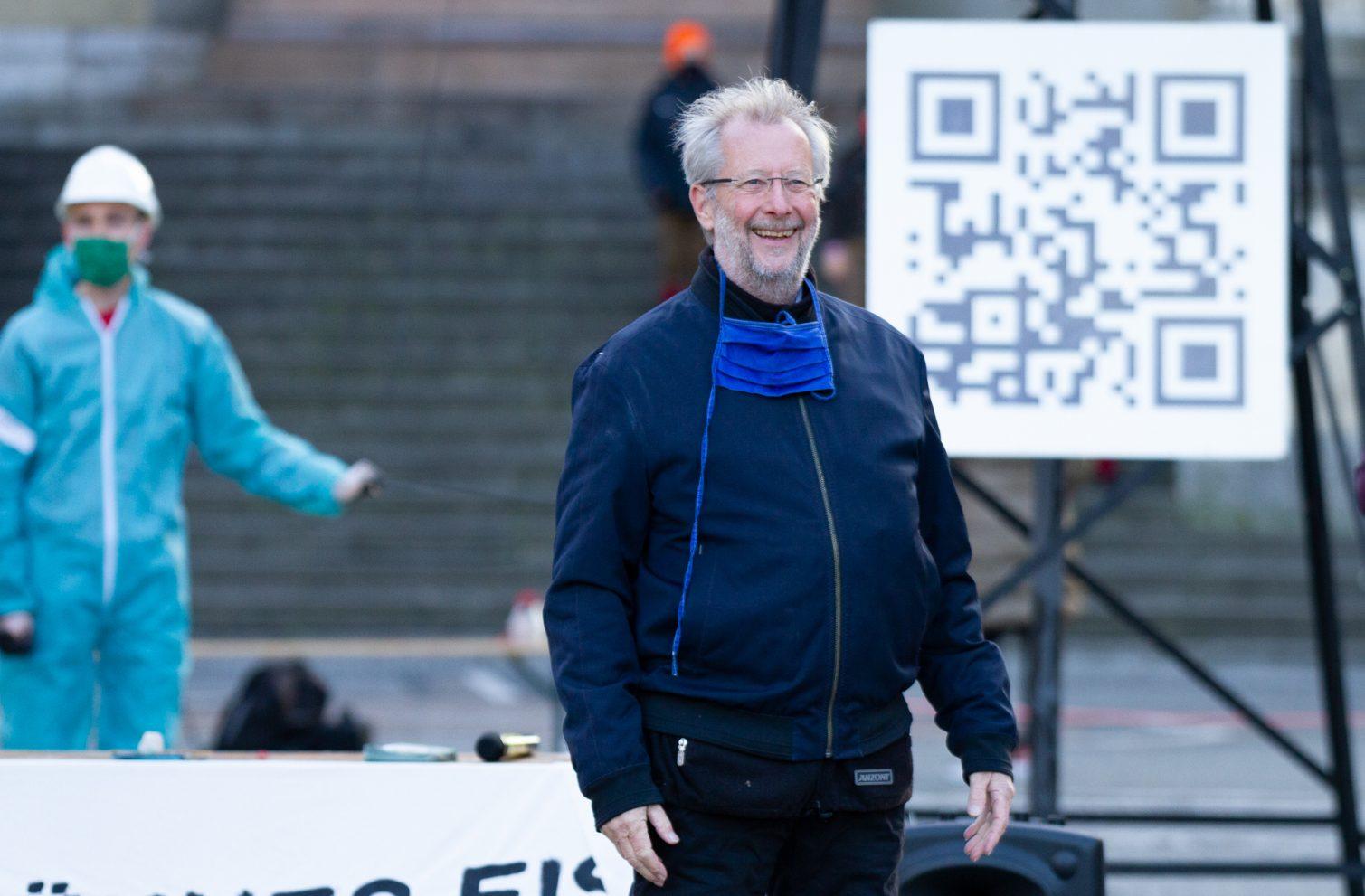 Dr. Helmiut Paschlau, Organisator der Protect the Planet Vortragsreihe